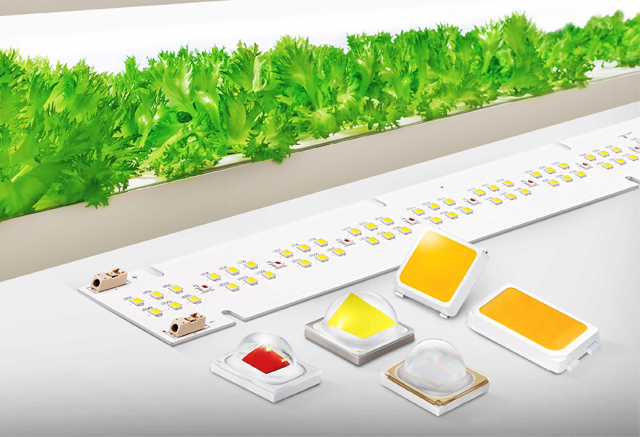 Samsung Introduces Horticulture LEDs for Improving Greenhouse and Vertical Farming