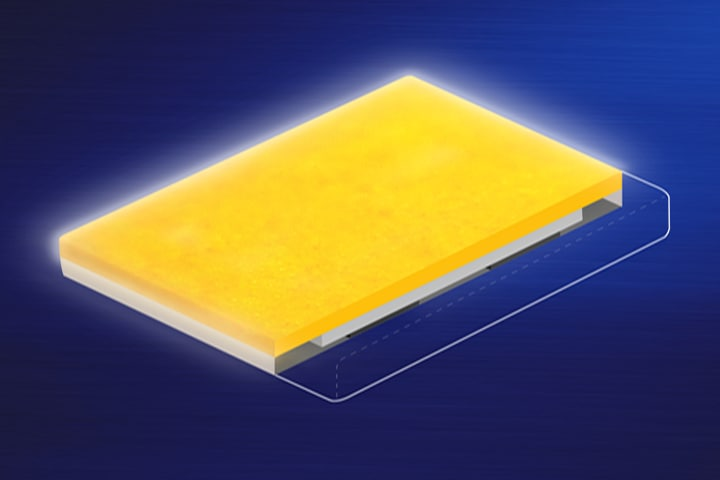 Samsung LEDs graphic image of FEC-applied LED package