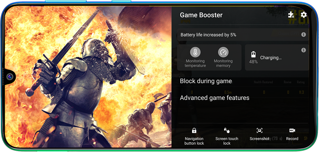 Samsung Galaxy M30s - Game Booster