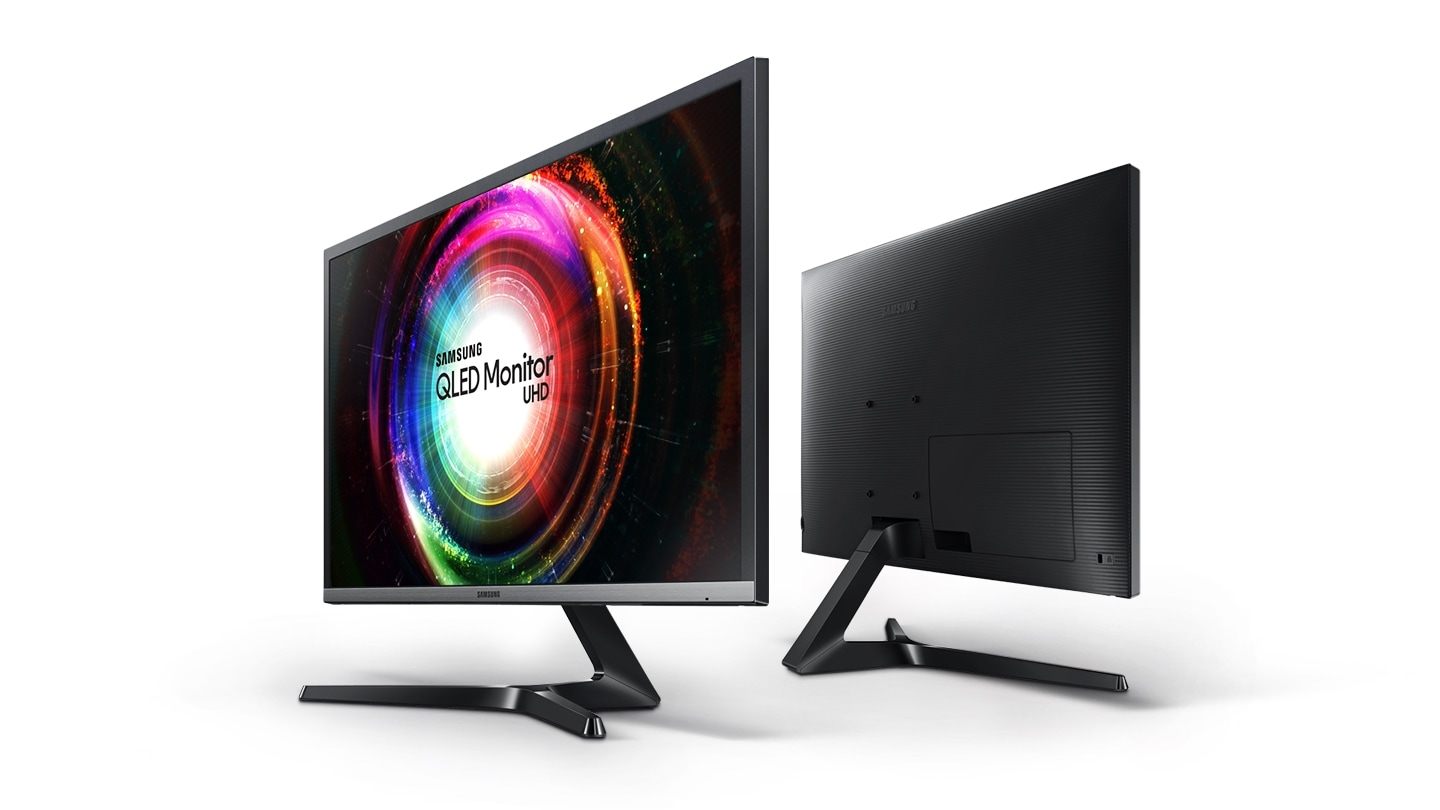 "This image shows UHD Monitor UE85 32"" / 28"""