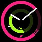 POP watch face in pink