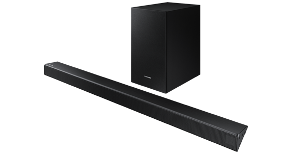 A Image of right perspective view of soundbar HW-R550