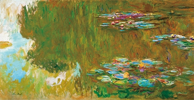 Claude Monet, The Water Lily Pond (c. 1917-19)