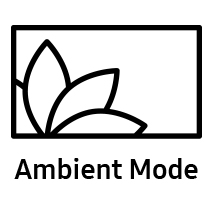 Logo of Samsung TV's Ambient Mode