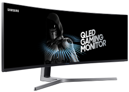 "49"" QLED Ultra-Wide Screen Gaming Monitor"