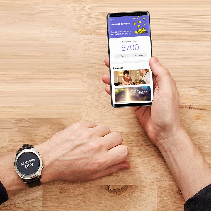 Samsung Pay Rewards x Gear