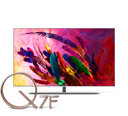 An image of Samsung 2018 new QLED TV Q7F.