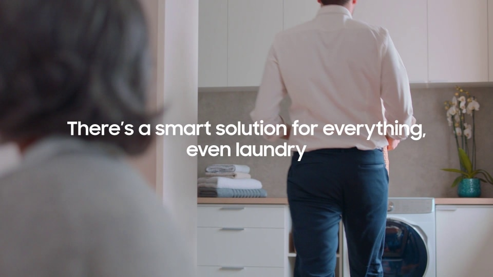Samsung QuickDrive - The smart laundry solution