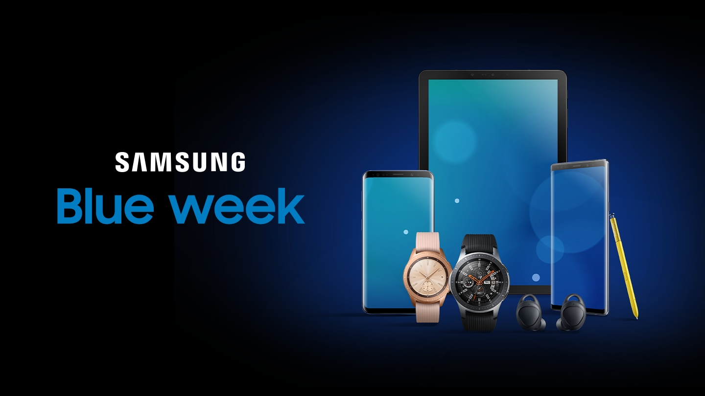 samsung blue week promoties