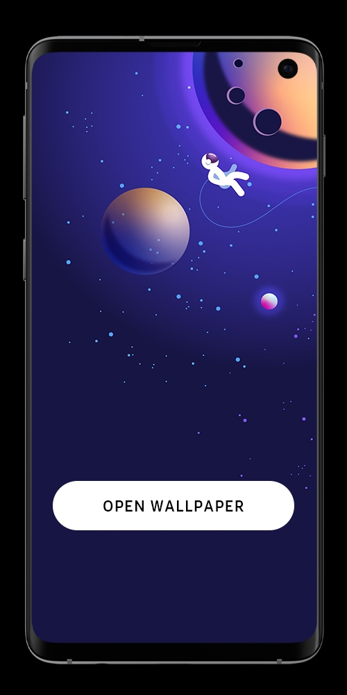 Wallpaper S10 Moon