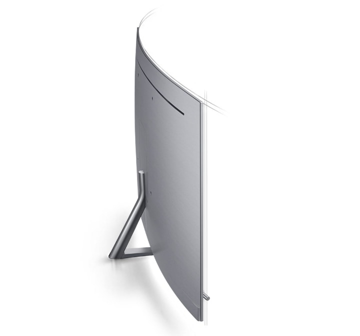 Samsung Curved TV achterkant