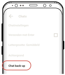 Chat back-up