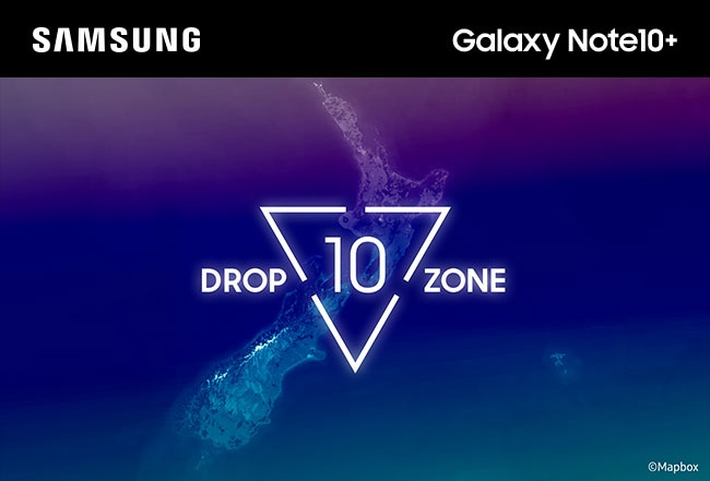 SAMSUNG Galaxy Note10+. Dropzone 10.