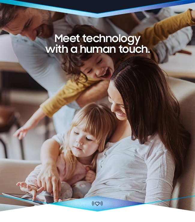 Meet technology with a human touch