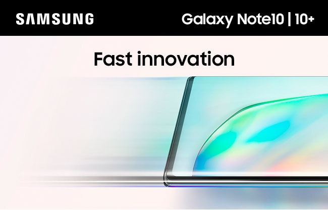 SAMSUNG Galaxy Note10 | 10+ Fast innovation