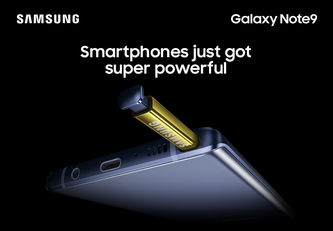 Samsung Galaxy Note9 Smartphones just got super powerful