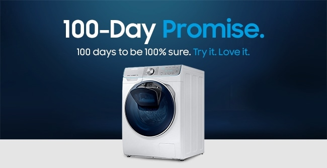 100-Day Promise. 100 days to be 100% sure. Try it. Love it.