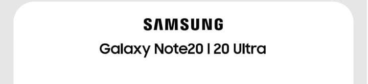 Samsung Logo Galaxy Note20   20 Ultra