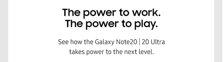 The power to work. The power to play.