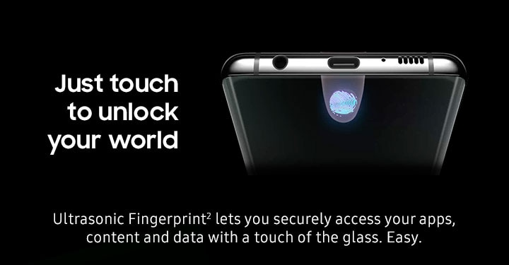 Just touch to unlock your world