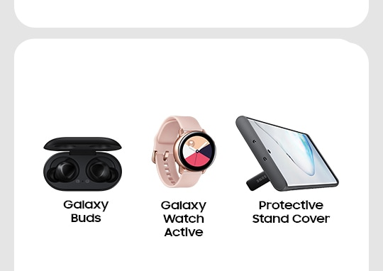 Galaxy Buds Galaxy Watch Active Protective Stand Cover