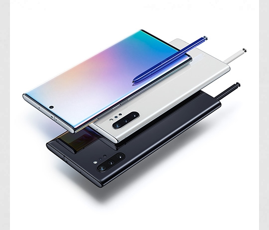 Image of Galaxy Note10+ : Aura Glow, Aura White and Aura Black