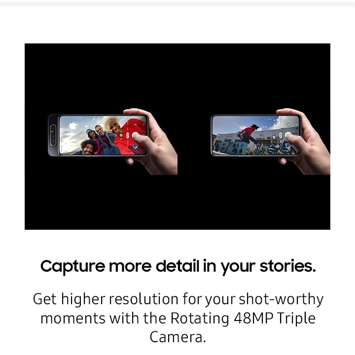 Capture more detail in your stories.
