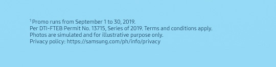 Per DTI-FTEB Permit No. 13715, Series of 2019. Terms and Conditions Apply.