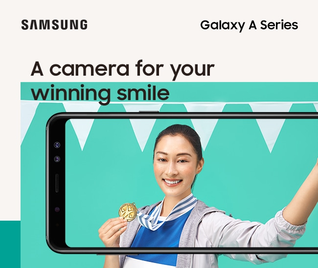 A camera for your winning smile