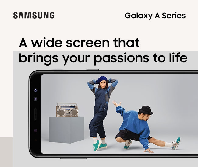 A wide screen that bring your passion to life