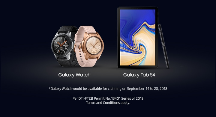 Galaxy Tab and Watch