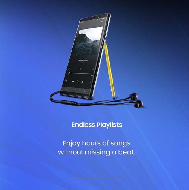Endless Playlists. Enjoy hours of songs without missing a beat.