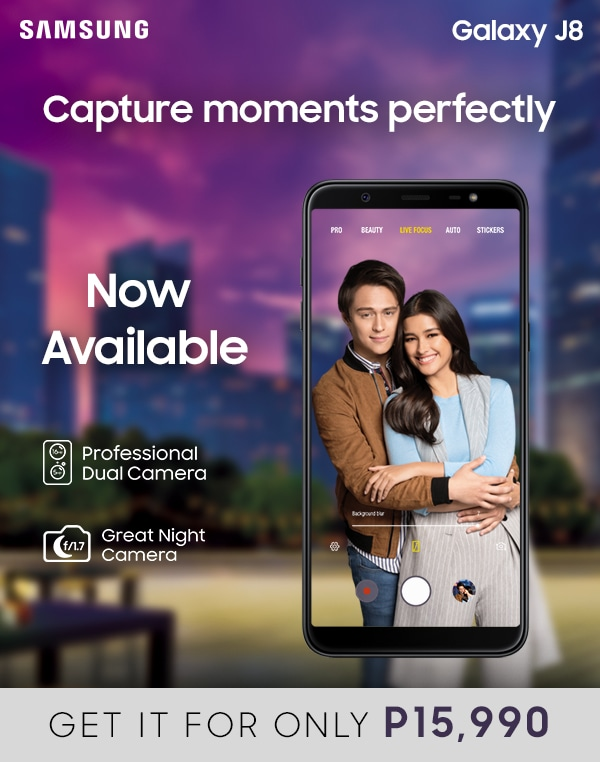 Capture moments perfectly with the new Galaxy J8's Professional Dual Camera and Great Night Camera