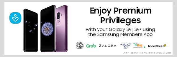 Enjoy Premium Privileges with your Galaxy S9 | S9+ using the Samsung Members App