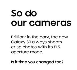 So do our cameras