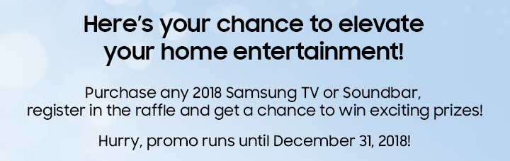 Here's your chance to elevate your home entertainment!