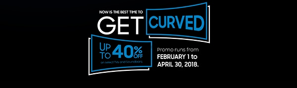 Now is the Best time to Get Curved up to 40% OFF