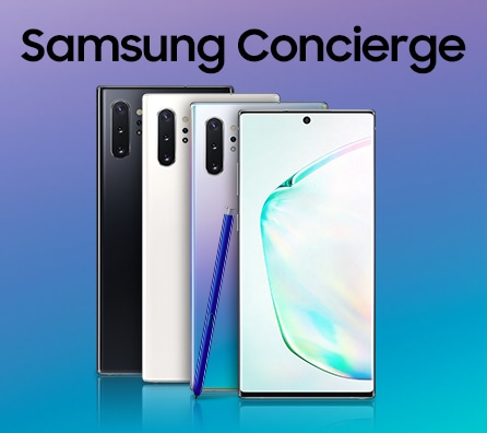 Thumbnail image of Galaxy Note10 and Note10+ Promo: Concierge