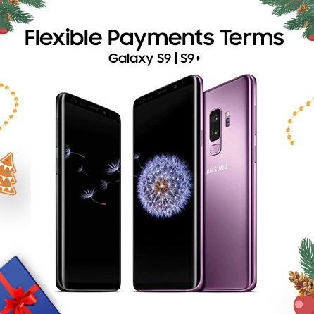 Thumbnail image of Galaxy Christmas Gift Promo: Galaxy S9 and S9+ Flexible Payments