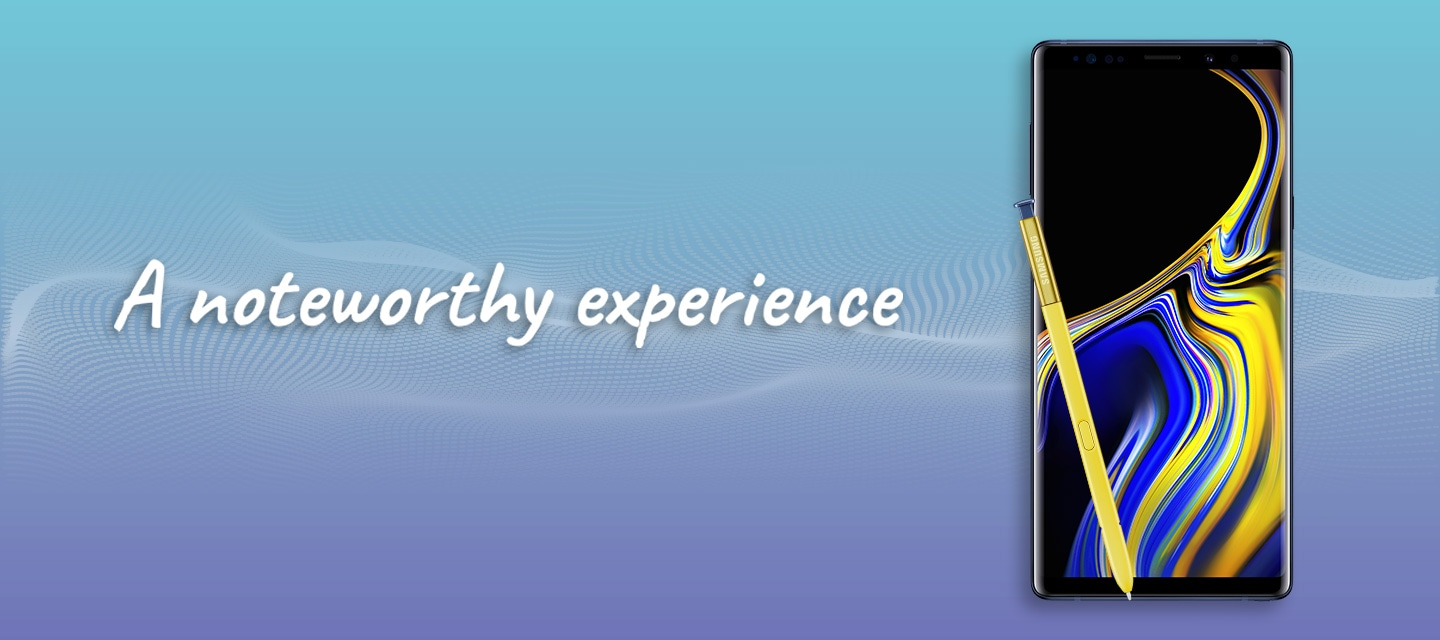 Galaxy Note9 Mall Event Banner