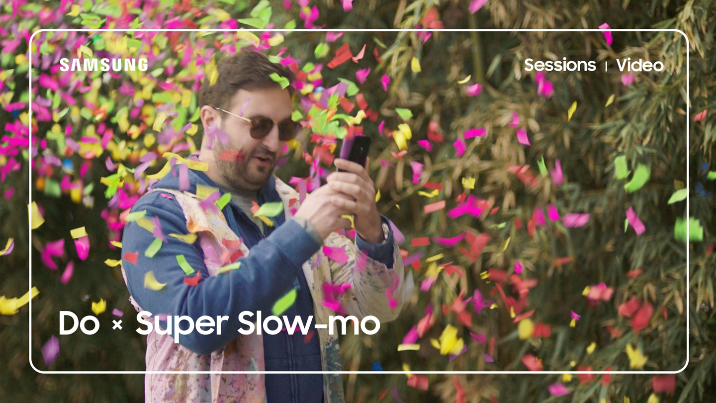 Still image of 'The Slow Mo Guys (All About Light)' Youtube video giving tips on lighting for Super Slow-mo videos on Galaxy S9 or Galaxy S9+