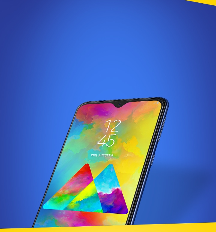 Galaxy M20 Mobile Banner