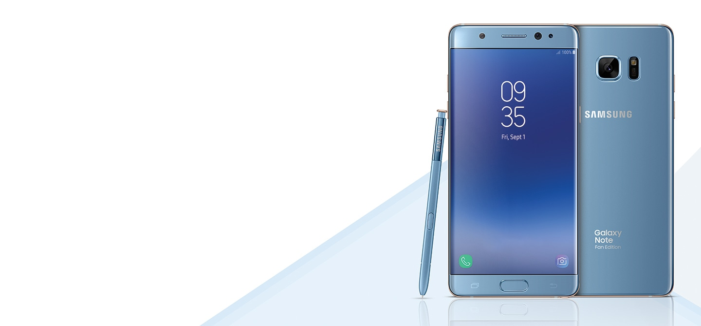 Buy your Galaxy Note FE from these Samsung Experience Stores