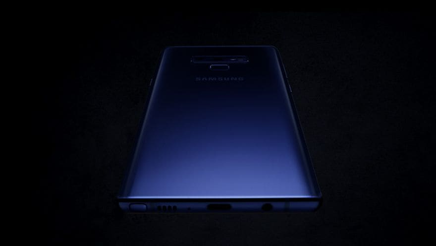 Galaxy Note9 official TVC