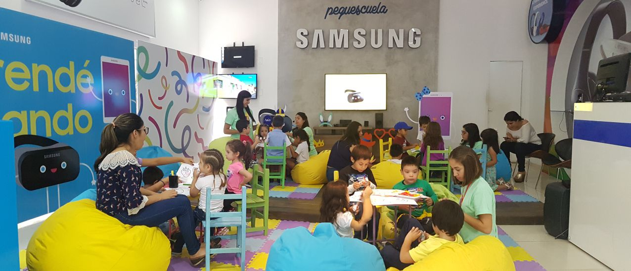 Pequescuela Samsung Back To school