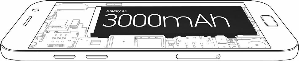 Geresnis veikimas dėl patobulintos 3 000 mAh baterijos.