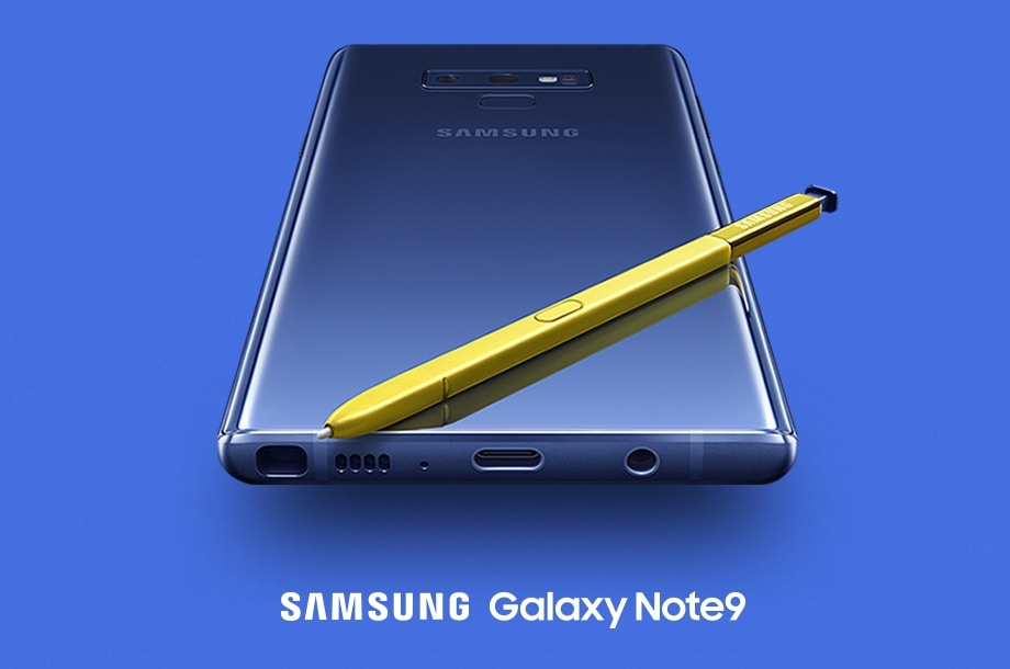 Samsung Galaxy Note9 and S Pen