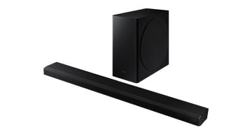 A set of soundbars