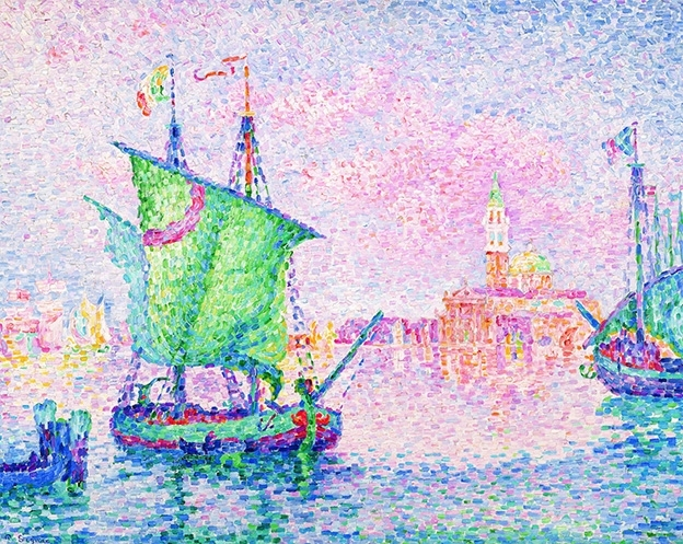 Paul Signac Venice, The Pink Cloud (1909)