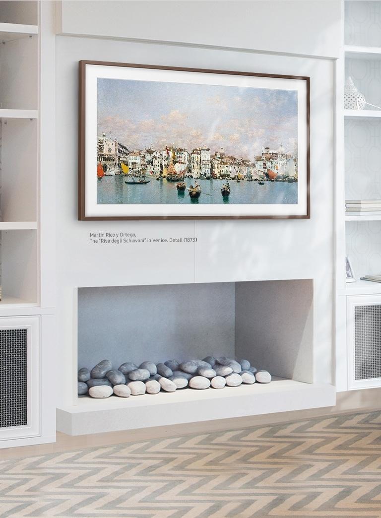 Der Samsung Art Store Mit Dem The Frame Tv Bringen Sie